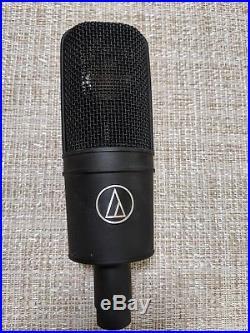Audio Technica AT4040 Condenser Vocal Studio Recording Mic with shock mount