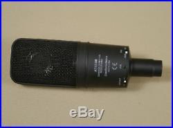 Audio Technica AT4040 Large Diaphragm Studio Vocal Condenser Mic w Shockmount