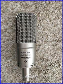 Audio Technica AT4047/SV Condenser Mic MINT