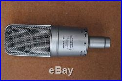 Audio Technica AT4047/SV pro large diagram mic made in Japan