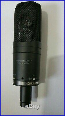 Audio Technica AT4050 multi-pattern large diaphragm condensor studio mic + pop