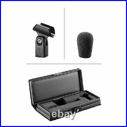 Audio Technica AT4051B Condenser Recording Microphone+Mic Stand+Isolation Shield