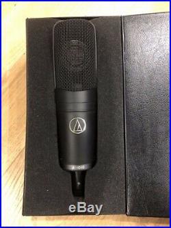 Audio Technica AT4060 Studio Pro Valve Mic & AT Cradle and Upgrade Valves, Cased