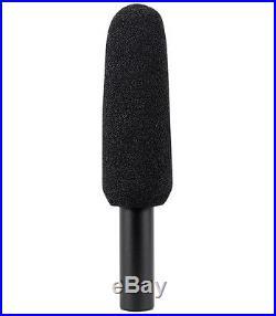 Audio Technica AT875R Short Shotgun Condenser Microphone with Line+Gradient DV Mic