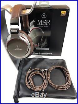 Audio-Technica ATH-MSR7GM High-Resolution Audio Headphones, Gun Metal Gray