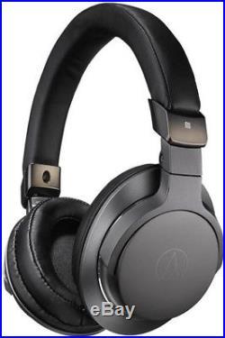Audio Technica ATH-SR6BTBK Sound Reality Bluetooth Headphones Over EarHigh Resol