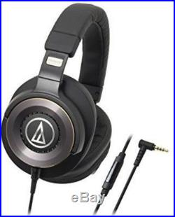Audio-Technica ATH-WS1100iS Solid Bass Over-Ear Headphones with In-line Micropho