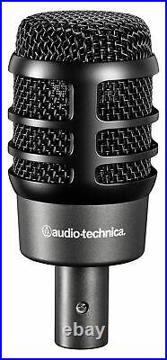 Audio Technica ATM-DRUM4 Drum Microphone Kit with(4) Mics+Mackie In-Ear Monitors