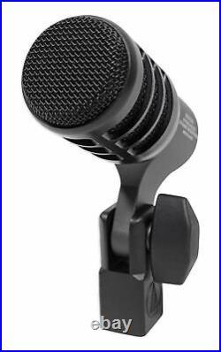 Audio Technica ATM230PK 3 Dynamic Instrument Drum Microphones+2 AKG Pencil Mics