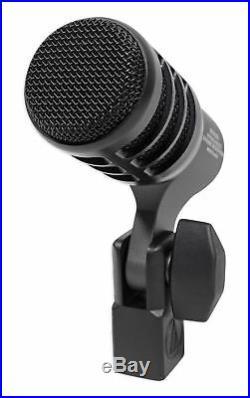 Audio Technica ATM230PK (3) Dynamic Instrument Drum Microphones+AKG Pencil Mic