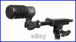 Audio Technica ATM230PK (3) Dynamic Instrument Microphones Drum Mics + Mounts