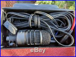 Audio-Technica ATM250DE Dual Element Dynamic/Condenser Mic PRISTINE