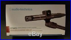 Audio-Technica ATM450 Cardioid Condenser Microphone ATM-450 Mic
