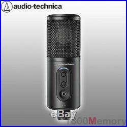 Audio Technica ATR2500x USB Cardioid Condenser Microphone Mic USB-A USB-C Cables
