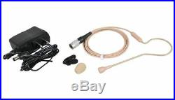 Audio Technica ATW-1101/H92-Th System 10 Wireless Beige Headset Mic System