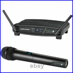 Audio-Technica ATW-1102 System 10 Digital Wireless Handheld Mic Set OPEN BOX