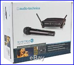 Audio Technica ATW-1102 System 10 Wireless Microphone System with Handheld Mic