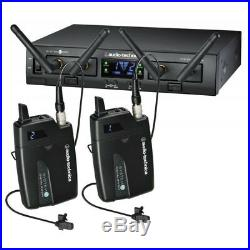 Audio-Technica ATW-1311L System 10 PRO Rack-Mount Digital Dual Lavalier Mic New