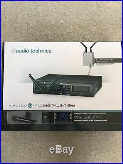 Audio-Technica ATW-1322 System 10 PRO Rack-Mount Digital Dual Handheld Mic