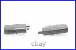 Audio Technica ATW-1701/L System 10 Camera-Mount Wireless Lav Mic System #581