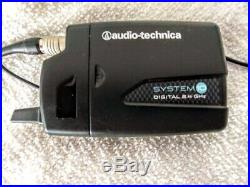 Audio Technica ATW-1701/L System 10 Camera Mount Wireless Lavalier Mic