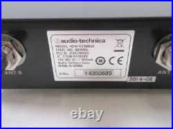 Audio Technica ATW-3100b UHF Synthesized Diversity Receiver and Mic