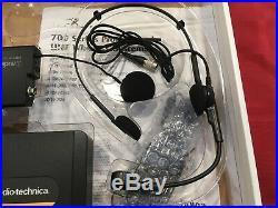 Audio Technica ATW-701/H WIRELESS HEADWORN MIC SYSTEM 8 CH FREQ AGILE DIVERSITY