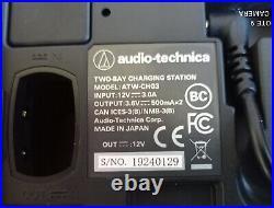Audio Technica ATW-CHG3 Charger & AD-SA1230XA Power Supply for 3000 4th Gen Mics