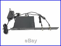 Audio Technica ATW-DA49 UHF Rack mount wireless Mic antenna Distro power supply