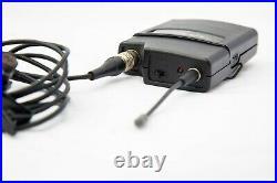Audio Technica ATW-R2100 Receiver with ATW-T210 wireless Lapel Mic