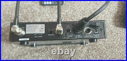 Audio Technica ATW-R2100 aU ATW-T210 aU Complete Set UHF Transmitter Mic X2