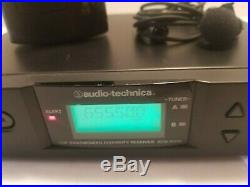 Audio-Technica ATW R310 Receiver + ATW-310bc Transmitter Mic TESTED