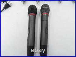 Audio Technica ATW-R310 Wireless Microphone System 655-680 MHz with 2ATW-341 Mics