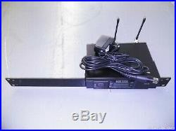 Audio Technica ATW-R3100C, Single Receiver (541-566 MHZ) With 10ft Mic Cable