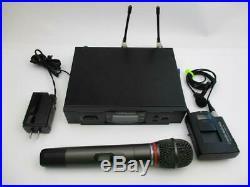 Audio Technica ATW-T310bC (Transmitter), ATW-R3100bC (Receiver), ATW-T341b (Mic)