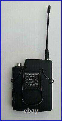 Audio-Technica ATW-T310bE Bodypack Transmitter 795-820MHz Microphone Mic #30