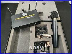 Audio Technica ATW702 8ch UHF Pro wireless handheld radio mic System (CH38)