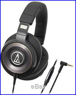 Audio Technica Ath-Ws1100Is Solid Bass Over-Ear H/P For Smartphone Ove