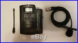 Audio Technica Atw-r3100 & Atw-t310 Lav / Lapel Radio MIC Uk Legal Frequency