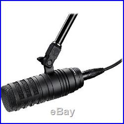 Audio Technica BP40 Large-Diaphragm Dynamic Broadcast Mic + Super Accessories