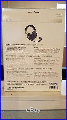 Audio-Technica BPHS1 Broadcast Stereo Headphone with Boom Mic