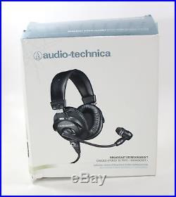 Audio-Technica BPHS1 Broadcast Stereo Headset Dynamic Cardioid Boom Mic