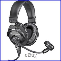 Audio-Technica BPHS1 Broadcast Stereo Headset With Cardioid Boom Microphone NEW