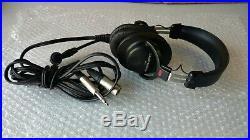 Audio-Technica BPHS1 Broadcast Stereo Headset with Dynamic Boom Mic LN