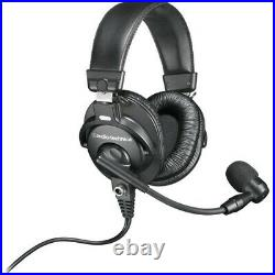 Audio-Technica BPHS1-XF4 Communications Headset with Cardioid Mic Open Box