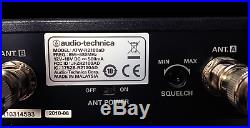 Audio Technica Complete UHF Wireless System ATW-R2100aD / ATW-T210a / Lav Mic