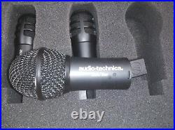 Audio Technica DR-DRM Digital Reference Drum Microphone System ×2 /8 mic lot