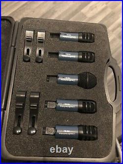 Audio Technica MBDK5 Midnight Blues 5 Piece Drum Mic Set
