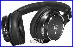 Audio Technica MSR7NC ANC 3.5mm Jack On-Ear Adjustable Headphones Black