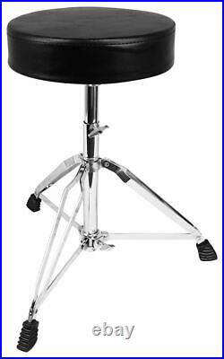 Audio Technica PRO-DRUM7 Drum Microphone Kit with(7) Mics+Stands+Cables+Mixer+Seat